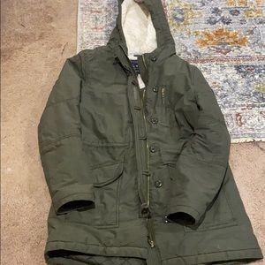 American Eagle fleece lined utility jacket